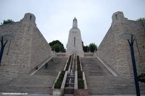 The imposing Victory Monument, Verdun