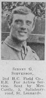 Stevenson, Sidney G
