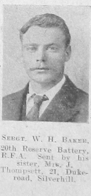 W H Baker