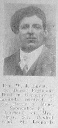 W J Bevis