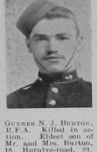 N J Burton