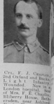 F J Chaplin
