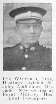 Walter A Dine