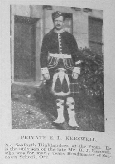 E L Kerswell
