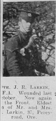 James R Larkin