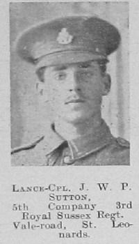 J W P Sutton