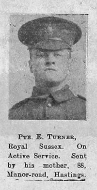 E Turner