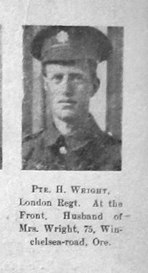 H Wright