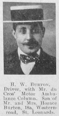H W Burton