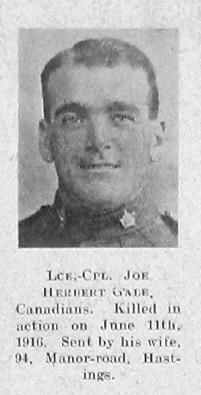 Joe Herbert Gale