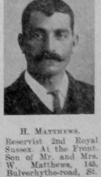 H Matthews
