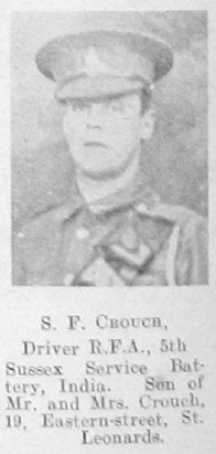 Crouch, S F