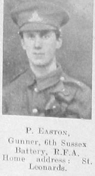 P Easton