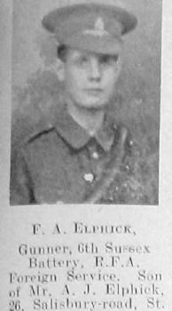 F A Elphick