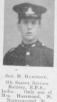 H Hammond