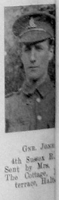 Jones, Unknown First Name