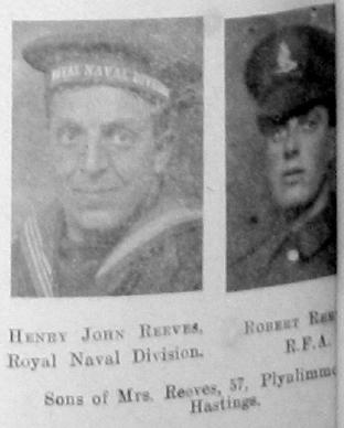 Reeves, Henry John