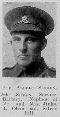Sinden, Albert