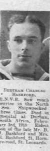 Bashford, Bertram Charles