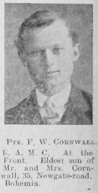 Cornwall, Frank William