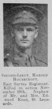 Harold Housecroft