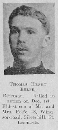 Thomas Henry Relfe