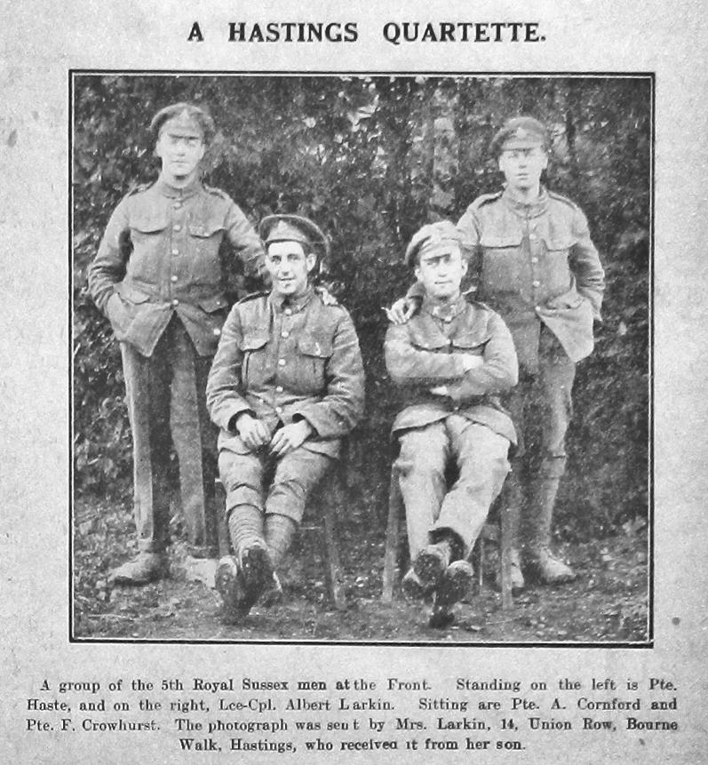 Haste, Larkin, Crowhurst & Cornford