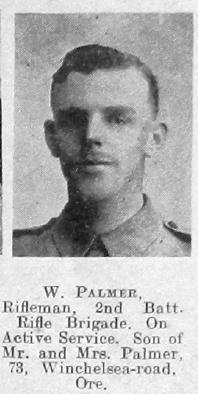 Palmer, William F G
