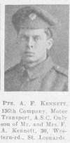 A F Kennett