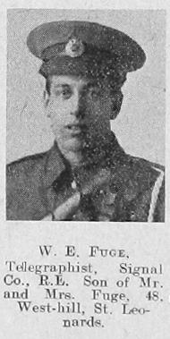 William E Fuge
