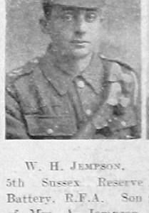W H Jempson