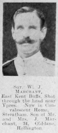 W J Marchant