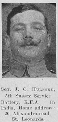 J C Hulford
