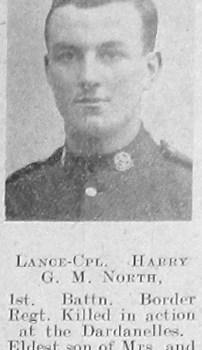 Harry Galloway M North