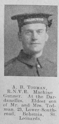 Archibald Bernard Todman
