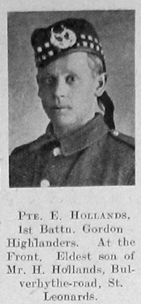 Hollands, Ernest
