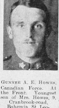A E Howes