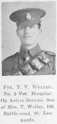 T V Weller