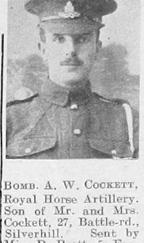 Alfred W Cockett