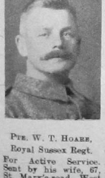William T Hoare