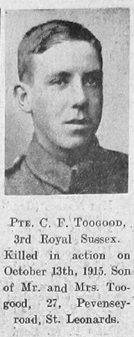 Charles Frank Toogood