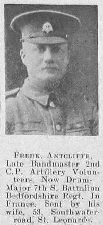 Frederick Antcliffe
