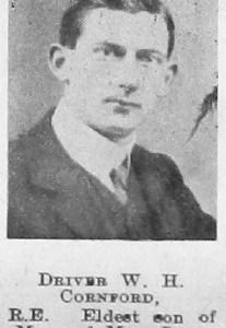 William H Cornford
