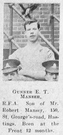 Ernest Fletcher Manser