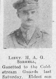 Herbert Alfred George Sorrell