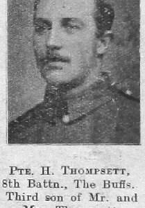 H Thompsett