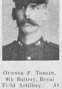 F Tomlin