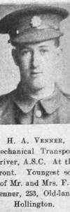 Venner, Herbert A
