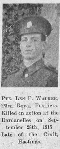 Leonard Frank Walker