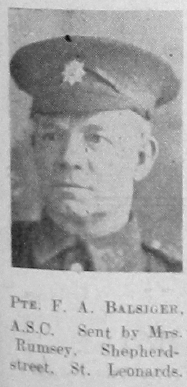 Frederick A Balsiger